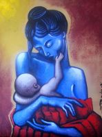 MOTHER AND CHILD 2 by francisff