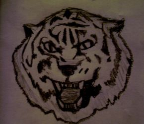 Mike the tiger 1 by emilymac707
