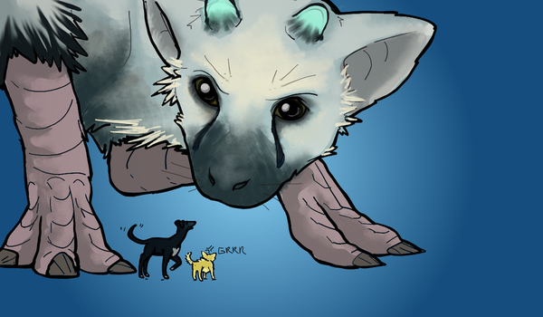 Last Guardian title card by theeighthdeadlysin