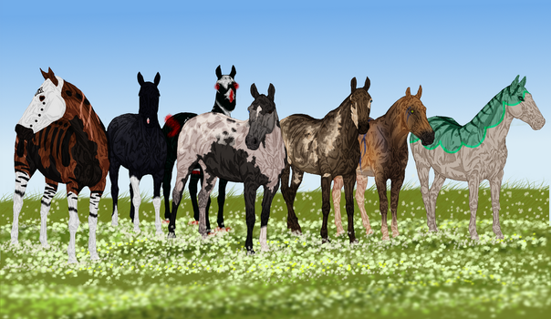 Free Group YHH: Closed Winners Announced! by The-Last-Filly