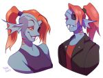 Undyne 2 by ground-lion