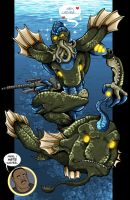 Commission Leviathan with Ernie Hudson.. by MachSabre