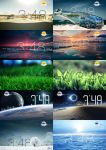Hidden Time FULL SCREEN for xwidget by Jimking