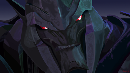 Angry Megatron by PDJ004