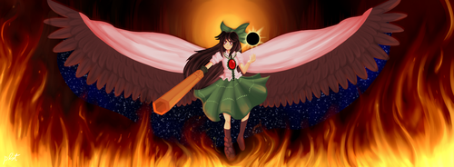 Utsuho Wallpaper by Pierrelucstl