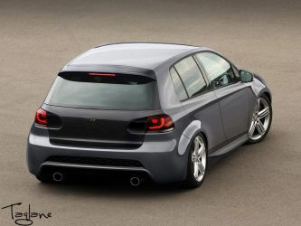 VW Golf R by Taglane