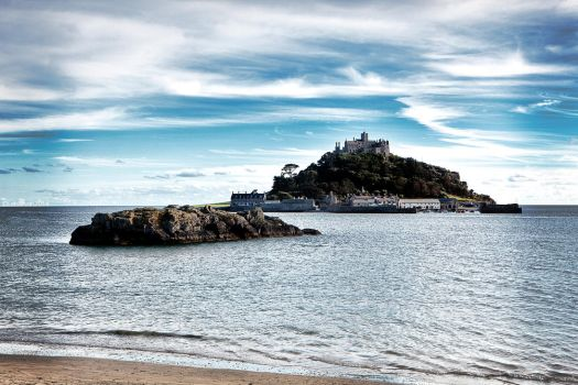 Saint Michaels Mount Cornwall by Leeby