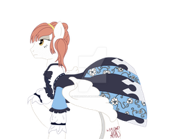 Lucette Riella Britton aka Frosted Light: Finished by CrimsonGlow