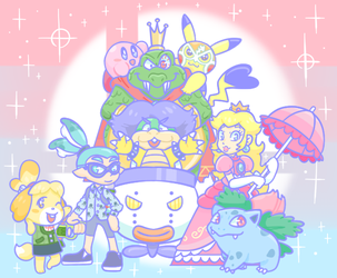 My Ultimate Roster by CreamChao427