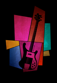Rickenbacker bass by marcelljusztin