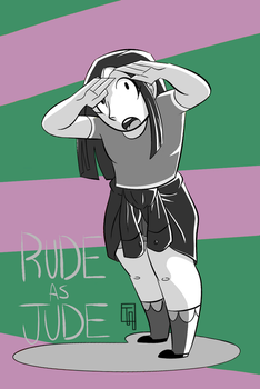 :.Rude as Jude.: by ThatOneMuffin