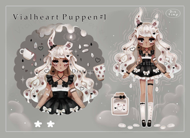 [ AUCTION : CLOSE ] Vialheart Puppen # 1 by Distiny-Adopts