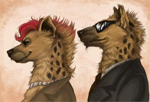 Mafia Hyenas - colored by LadyFiszi