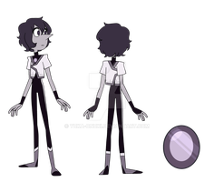 Black Pearl GEMSONA by YukaOnuki143