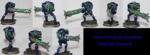 Necron Immortal Multiview by Czethros