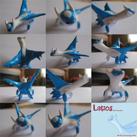 Super Sculpey latios