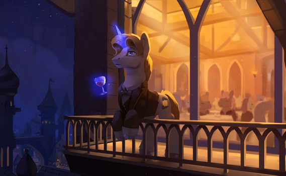 Midnight Emissary (Animated) by Rodrigues404
