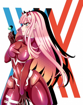 Zero Two by Imako-chan