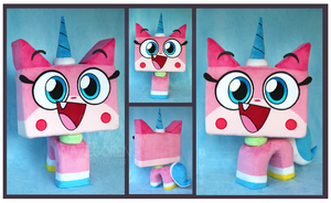 Princess Unikitty Custom Plush by Nazegoreng