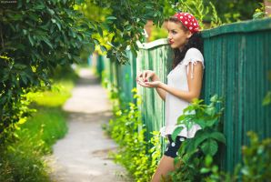 Summer in Countryside by platen