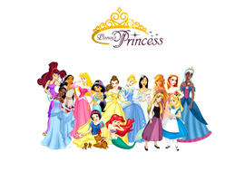 All of Disney's Princesses by Hanako-3