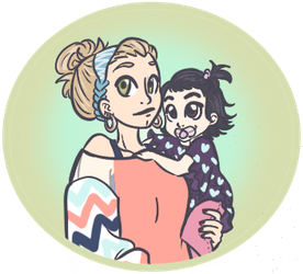 Chloe and Mommy by Mimi-Lee-13