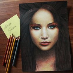 Katniss Everdeen by DeadOceans
