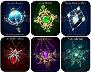 Magic items adopts 10 (CLOSED) by Rittik-Designs
