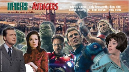 The Avengers vs. The Avengers by Bispro