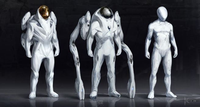 Some space suit concepts 2 by JSA-Arts
