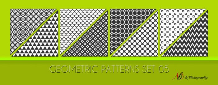 Geometric Patterns Set 05 by noema-13