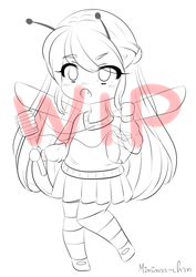 [ WIP ] My honey ! by miminaa-chan