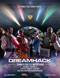 DHS TF2 Invitational 2016 Poster by uberchain