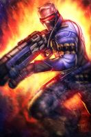 Overwatch - Soldier 76 by AIM-art