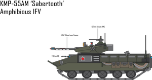 IRS KMP-55AM Sabertooth IFV by Target21