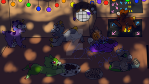 Wyngro Party by SamanthaTheDoggy