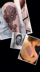 Latest tattoos I've done by Cloud9images