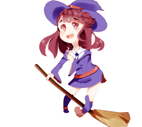 .:GIF:. Little Witch Akko by Marritime