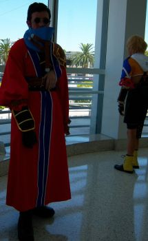 AX - FF10 - Auron and Tidus by Hunter630