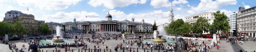 Trafalgar square by NikolasWilliams