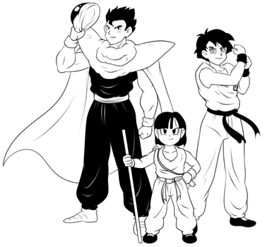 Demon Family by VR-Hyoumaru