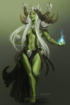Female Orc by Tanzenkat