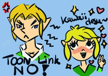 How did this happen, Link? by AncientArrow