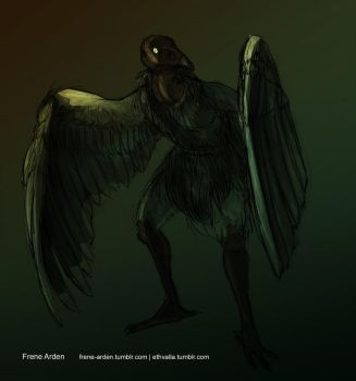Werevulture 2 by frene