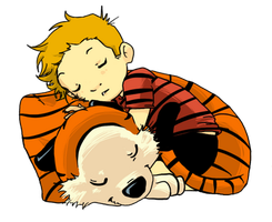 Calvin and Hobbes by Ayaluna