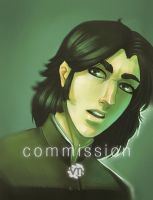 Commish: Severus Snape by Vimeddiee