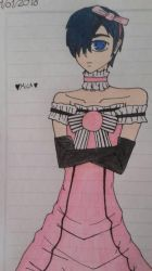 Boy with Dress  by Mikal04-12