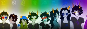 Homestuck Trolls by Life-Writer