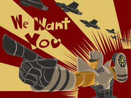 TF: We Want You by ZeeNovos