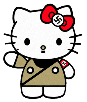 SEIG HAIL tHe NAZI KITTY by royaldarkness